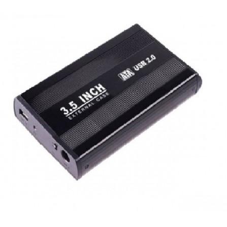 """Boitier Externe pour disque dur 3.5"""" HDD - Noir (RB-4330-BLACK)"""