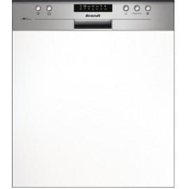 Lave vaisselle BRANDT Semi encastrable 13 Couverts Blanc (VH1505X)