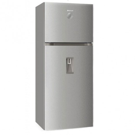 Réfrigérateur Brandt NoFrost 480L - Inox (BD4712NWX)