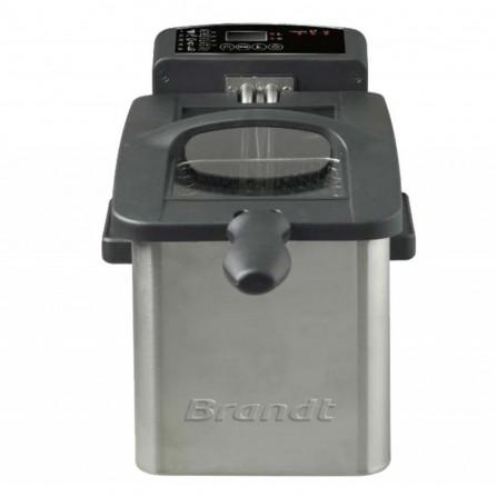Friteuse Tactile Brandt 2000 Watt - 3 L - Inox (FRI2102E)