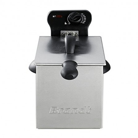 Friteuse Brandt 2000 Watt - 3 L - Gris (FRI2000)