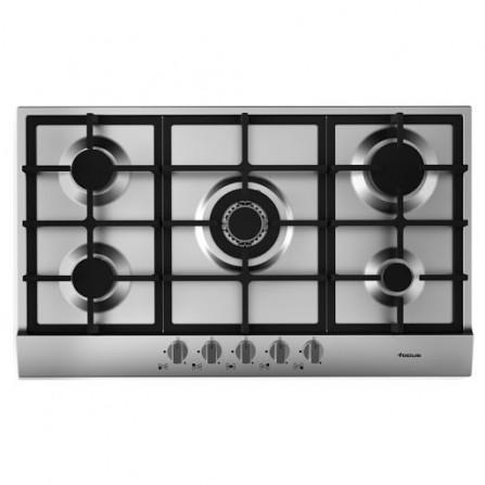 Plaque de cuisson Focus 5 feux 90 cm - Inox (F.4789X)
