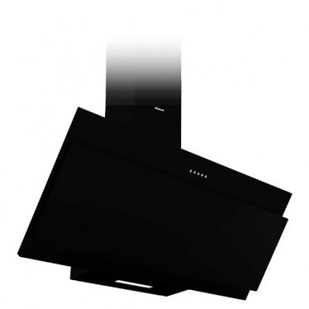 Hotte design Focus 90 cm tactile vitro - Noir (F.920B)
