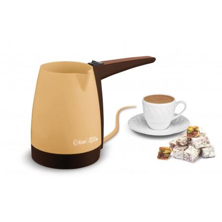 Cafetière turque Kiwi 1000 Watt - Jaune (KCM 7510)