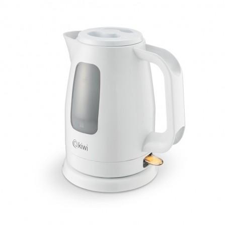 Bouilloire électrique Kiwi 2000 Watt 1,7L - Blanc (KK 3325P)