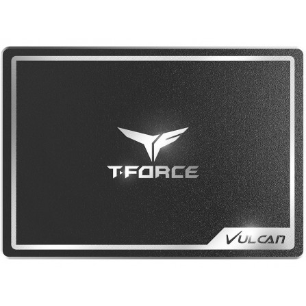 Disque Dur SSD T-FORCE Vulcan 500GB - Noir (T-FORCE-SSD-500GO)