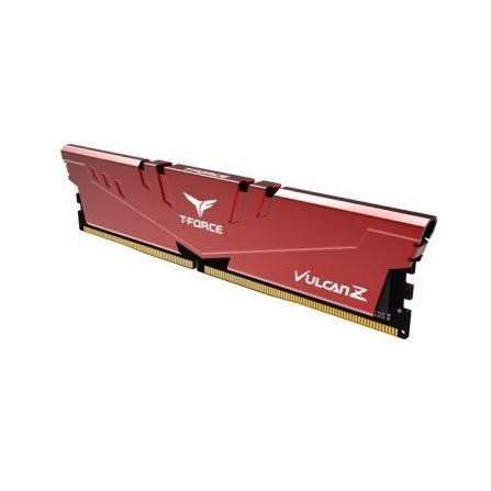 Barrette Mémoire TEAM GROUP 8Go DDR4 Pour PC De Bureau Rouge