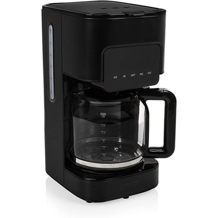 Cafetière Princess Black Steel 900 Watt - 1.5L - Noir (246014 )