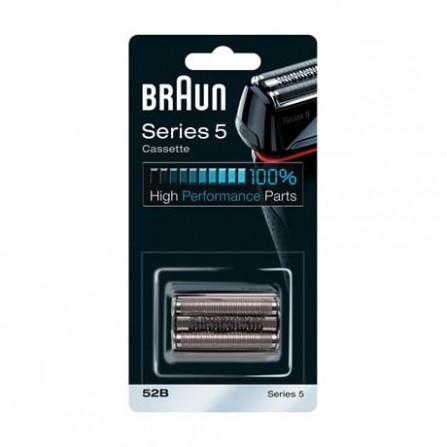Pièce De Rechange Braun 52B Noire Pour Rasoir Compatible avec les rasoirs Series 5 (52B)