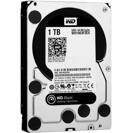 "Disque Dur Interne 3.5"" Western Digital Black 1 To (WD1003FZEX)"