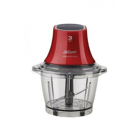 Hachoir Arzum - 600 Watt - 1L - Rouge (AR1035)