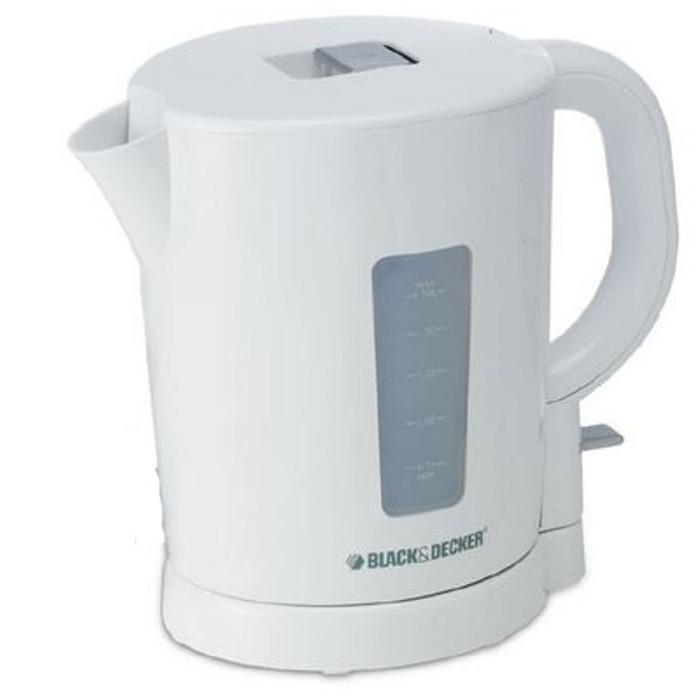 Bouilloire électrique Black+ Decker 2200 Watt 1,7 L Blanc (JC250B5)