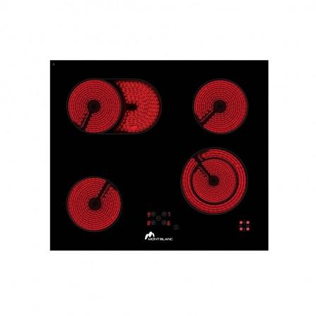 Plaque de Cuisson Vitroceramique 60/4 -Noir (PVS60/4)