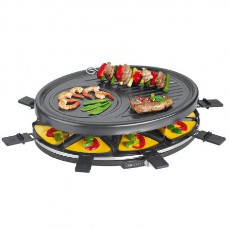 Grille Raclette CLATRONIC 1400 Watt - Noir (RG3517)