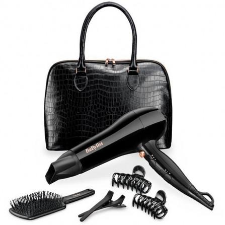 Coffret Sèche Cheveux Avec Sac + Brosse + 4 pinces BABYLISS (5737PE)
