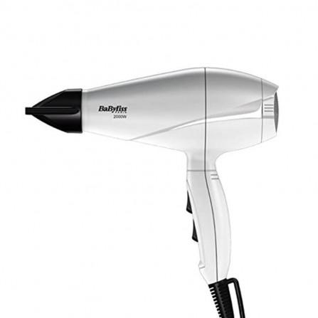 Sèche Cheveux Pro Light BABYLISS 2000 Watt - Blanc(6604WE)