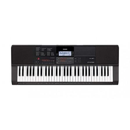 Clavier Electronic Musical + ADPT CASIO - Noir(CT-X700C2)