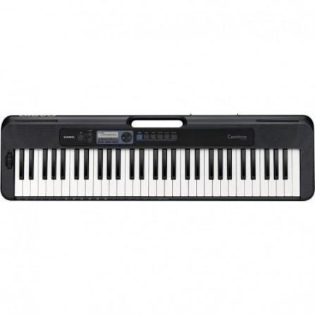 Clavier Electronic Musical + Adapt CASIO - Noir (CT-S300C2)
