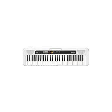 Clavier Electonic Musical + ADPT CASIO -Blanc (CT-S200WEC2)