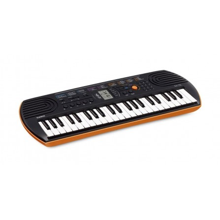 Mini Keyboard Built-in Tones CASIO - Oranger (SA-76AH2)