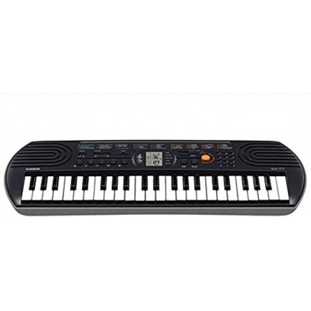 Mini Keyboard Built-in Tones CASIO - Gris(SA-77AH2)