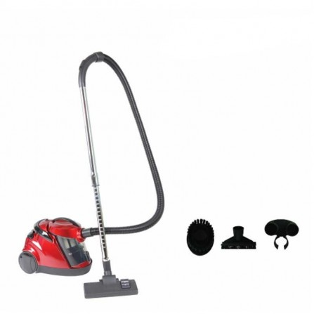Aspirateur EVERTEK TYPHON 1800 Watt - Rouge/Noir(HAS1800RN)