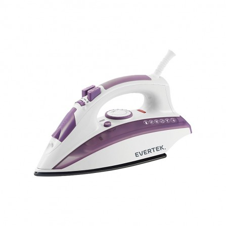 Fer À Repasser EVERTEK Iron Speed  EVERTEK 2400 Watt -Violet/Blanc (HFR24028W)