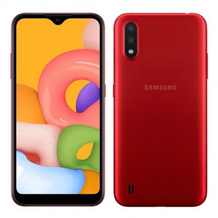 Smartphone SAMSUNG Galaxy A01 - Rouge (SM-A015)