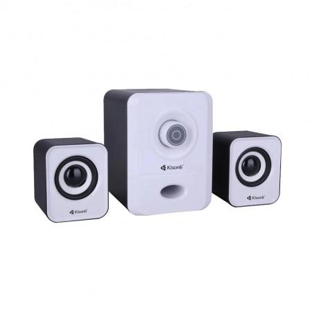 Haut parleur USB 2.1 Kisonli 2900 - Blanc