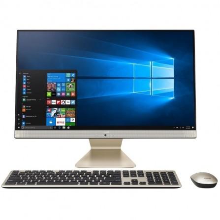 Pc De Bureau A.I.O ASUS I5 8é Gèn - 12 Go - 1 To+256 Go SSD - Blanc (V241FFT-BA060T)