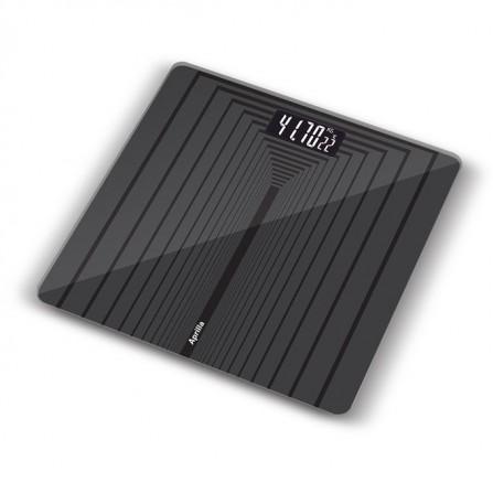 Pèse personne Aprilla 150Kg - Noir (ABS-1026)