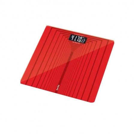 Pèse personne Aprilla 150Kg - Rouge  (ABS-1026)