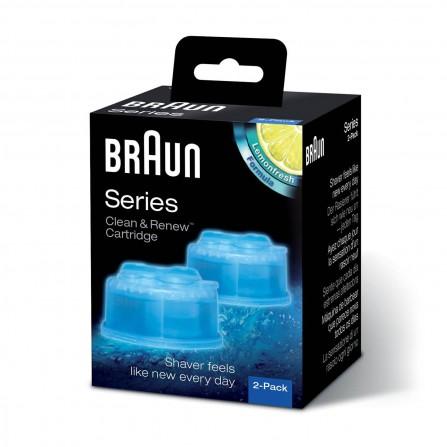 Accessoire rasage BRAUN recharges de nettoyage CCR2  (CCR2 )