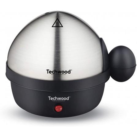 Oeufrier électrique TECHWOOD 350 Watt - Noir (TO-007)