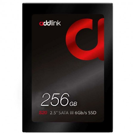 "Disque Dur Interne ADDLINK 256 Go SSD 2.5"" (AD256GBS20S3S)"