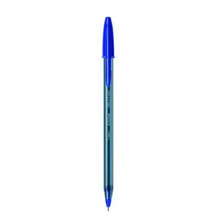 Pack de 12 Stylos BIC Cristal Ultra Fine 0.7 mm - Bleu (919933)