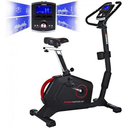 Ergomètre de qualité supérieure Cardio-Motion HAMMER  22 programmes -  130 kg (4855)