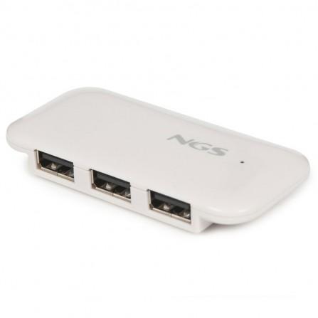 Hub USB NGS 4 Ports - Blanc (IHUB4)