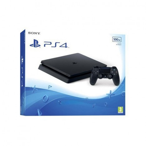 PS4 Sony Playstation 4 CONSOLE PS4 SLIM 500G - Noir