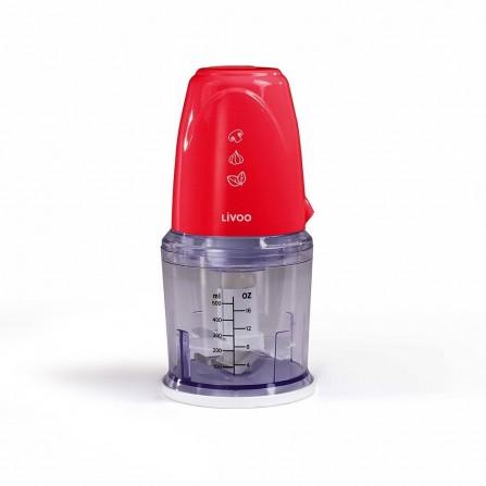 Hachoir électrique multifonction - Rouge (DOP207R)