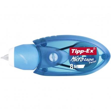 paquet de 10 correcteur - Microtape Twist - Tipp Ex - Bleu (8706143)