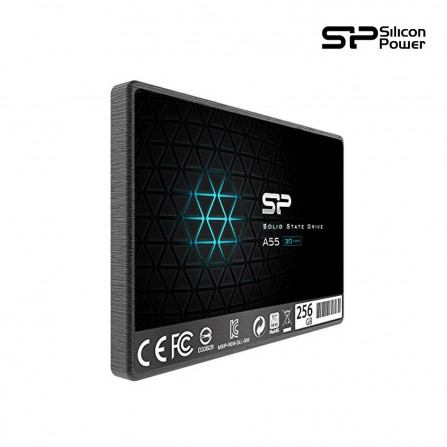 "Disque dur interne SSD Silicon Power A55 256Go - 2.5"" - (SP256GBSS3A55S25)"