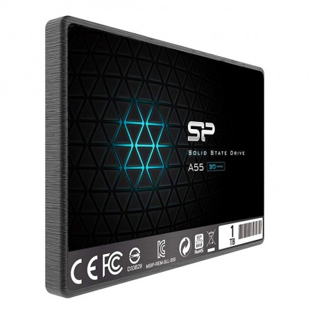 "Disque Dur Interne SILICON POWER A55 1To SSD - 2.5"" - (SP001TBSS3A55S25)"