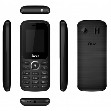 Téléphone Portable Iku S1 / Double SIM - Noir (S1-BK)