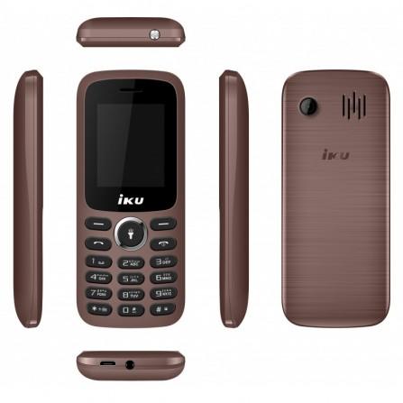Téléphone Portable Iku S1 / Double SIM - Marron (S1-BRW)