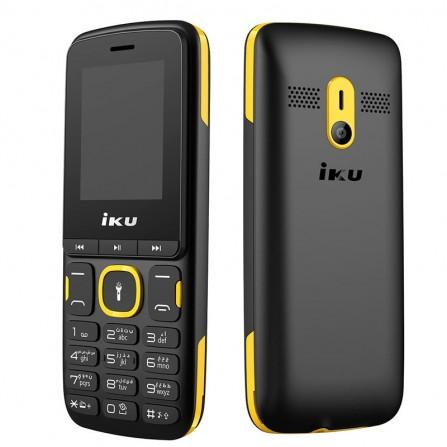 Téléphone Portable IKU F105 Double Sim - Noir & Jaune ( IKU-F105-YELLOW)