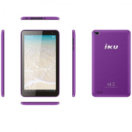"""Tablette IKU T4 7"""" 3G - Violet"""
