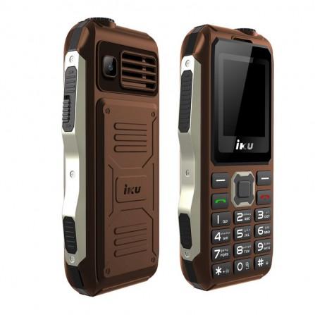 Téléphone Portable IKU S10 Double Sim - Marron (IKU-S10-BROWN)