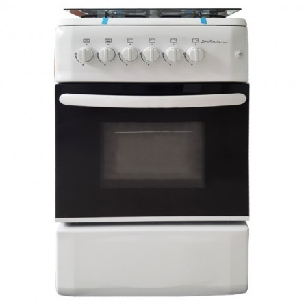Cuisinière à Gaz SOTACER 55cm - Blanc (F5540G2-W)