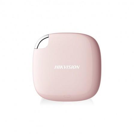Disque Dur Externe HIKVISION T100I 480 Go SSD - Rose (HS-ESSD-T100I/480G/P)